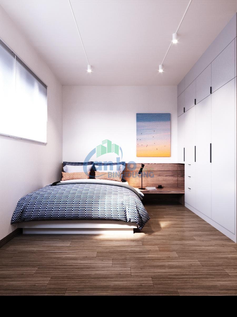 Cho thuê căn hộ Phase 2 (Giai đoạn 2) đầy đủ tiện nghi, tầng cao tại tòa nhà Habitat Bình Dương