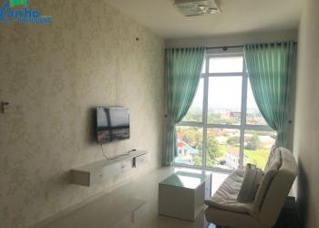 Căn hộ The Habitat cho thuê loại 2 phòng ngủ đầy đủ tiện nghi, tầng 12 cao ráo, view đẹp