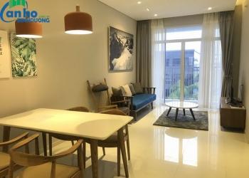 Căn hộ The Habitat tầng 10 nội thất tiện nghi, view nhìn thoáng mát