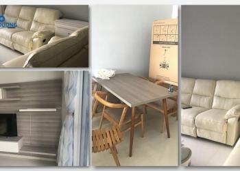Căn hộ đầy đủ nội thất tháp A1 The Habitat Bình Dương cho thuê