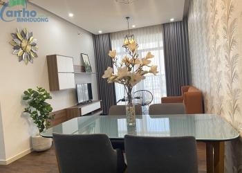 Căn hộ The Habitat tầng 10 tháp A2 cho thuê đầy đủ tiện nghi