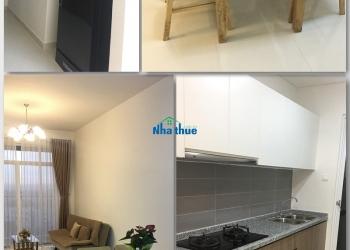 Cho thuê căn hộ The Habitat 2 pn đầy đủ tiện nghi, nội thất hiện đại view hồ bơi