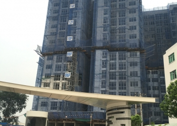 Tiến độ xây dựng dự án căn hộ chung cư The Habitat Bình Dương đến 18/06/2016