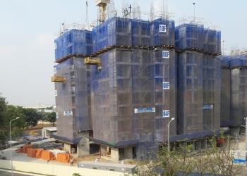 Tiến độ xây dựng dự án căn hộ The Habitat Bình Dương đến 23/03/2016