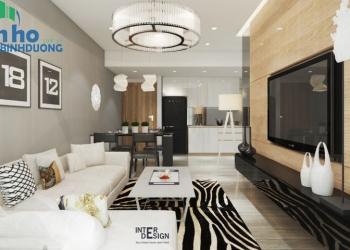 Căn hộ Dual Key cho thuê tại The Habitat với nội thất Châu Âu hiện đại